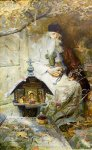 Ryzhenko Pavel Viktorovich  Prayer  Oil on canvas   Private collection